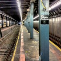This is an image of Pelham Parkway Number 5 Subway Station