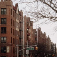 This is an image of Sunnyside Tudor Style Apartment Buildings