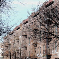 This is an image of Sunnyside Apartment Buildings
