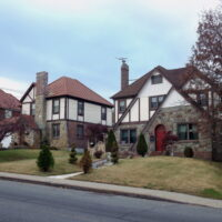 This is an image of Whitestone Tudor Style Houses