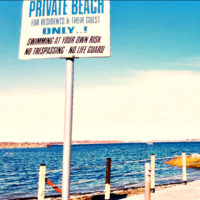 Private Beach in Edgewater Park Enclave in Throggs Neck