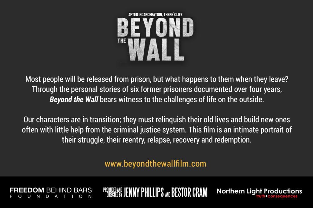 Beyond the Wall Postcard back