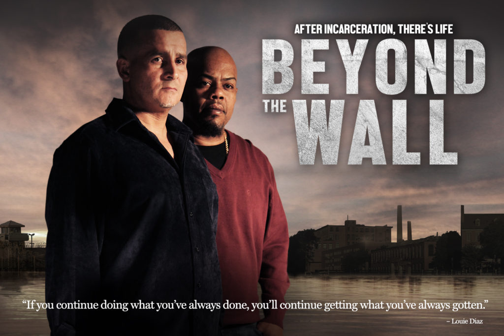 Beyond the Wall Postcard front