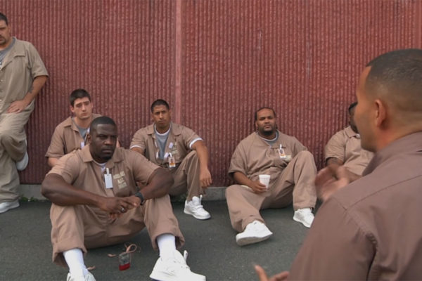 Louie Diaz teaching at Billerica House of Correction