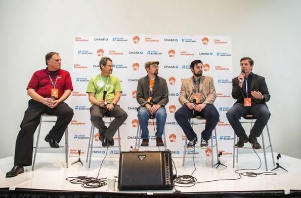 Nolan Clemmons speaks on Marketing through games at Dallas Startup Week 2016