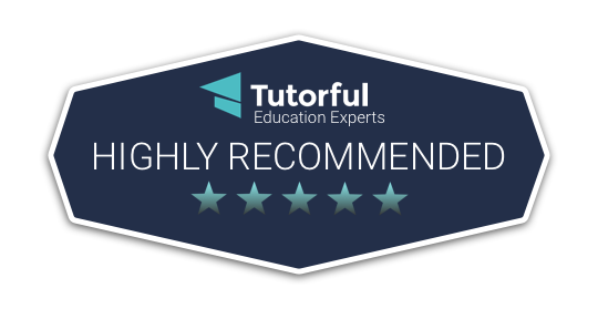 Tutorful Highly recommend educational content tutora.co.uk logo badge