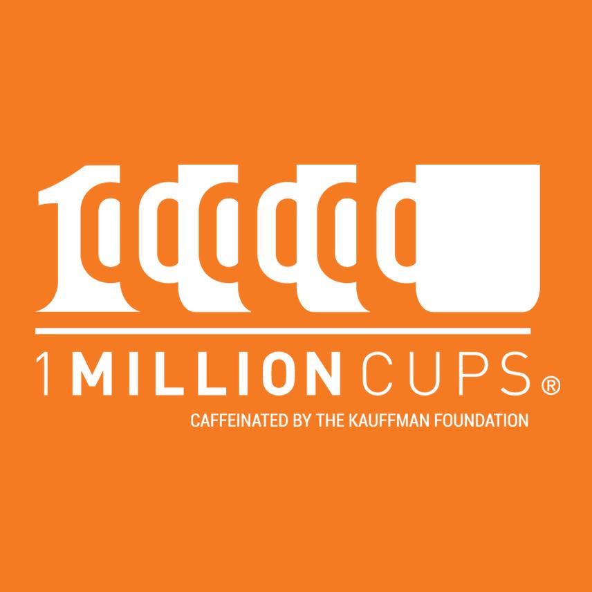 1 Million Cups logo kauffman foundation