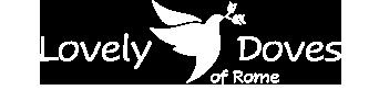 Lovely Doves of Rome Logo