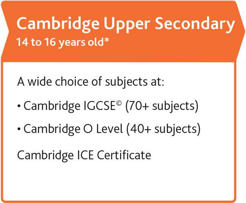 Cambridge Upper Secondary