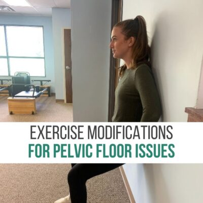 Exercise Modifications for Pelvic Floor Issues