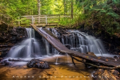 Pictured Rocks Waterfall