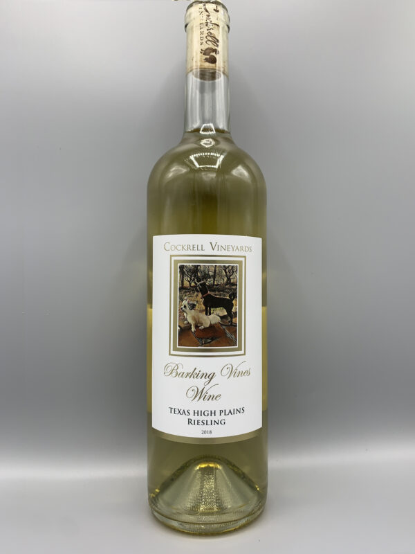 Cockrell Vineyards Wines Riesling Dry White