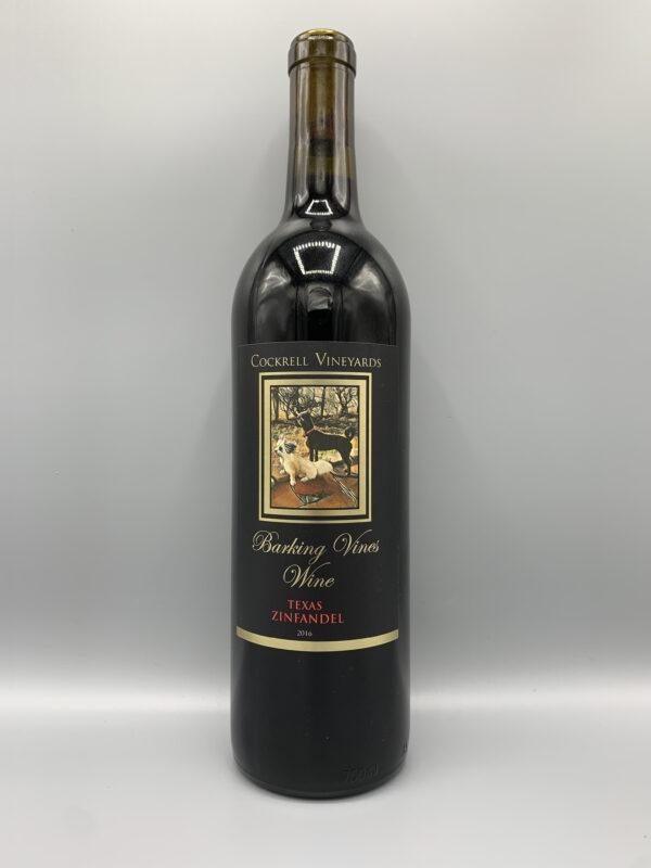 Cockrell Vineyards Wines Zinfandel 2016