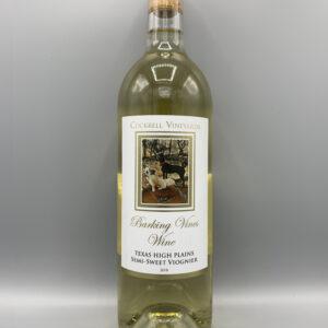 Cockrell Vineyards Wines Semi-Sweet Viognier