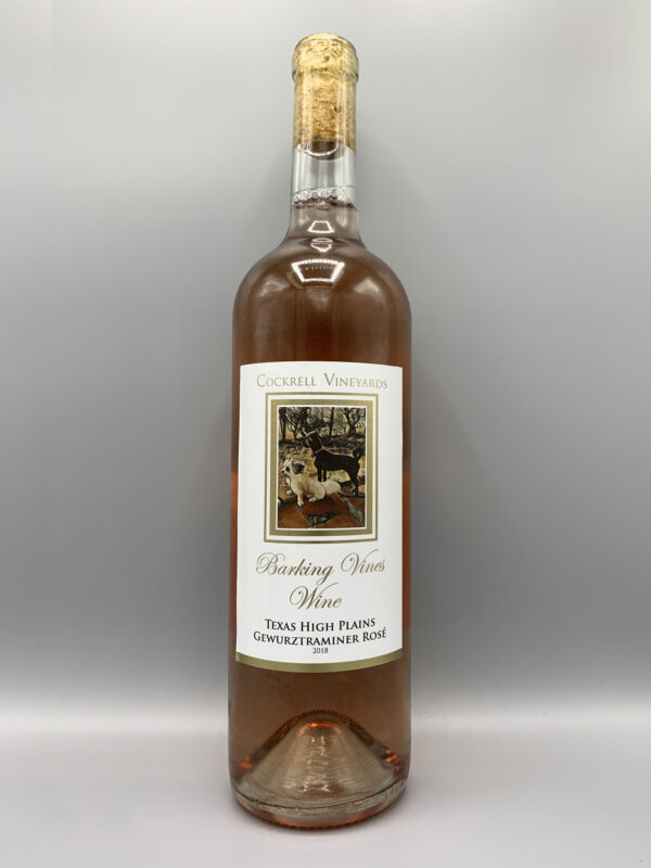 Cockrell Vineyards Wines Rose' Gewurztraminer