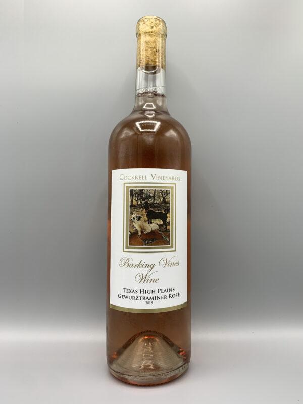 Cockrell Vineyards Wines Rose' Gewurztraminer
