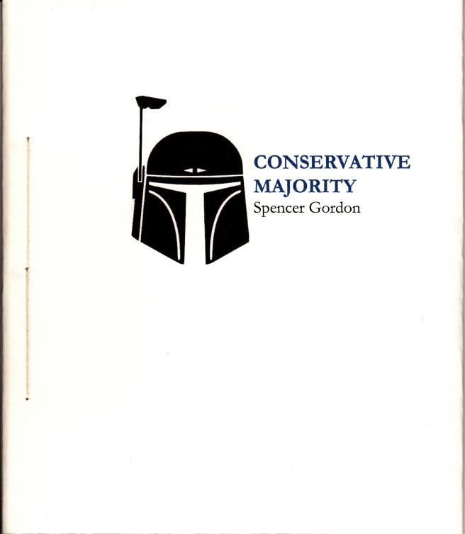 Chapbooks by Spencer Gordon | Conservative Majority