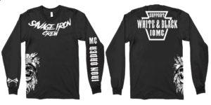 Support Iron Order MC - Long Sleeve T-shirt