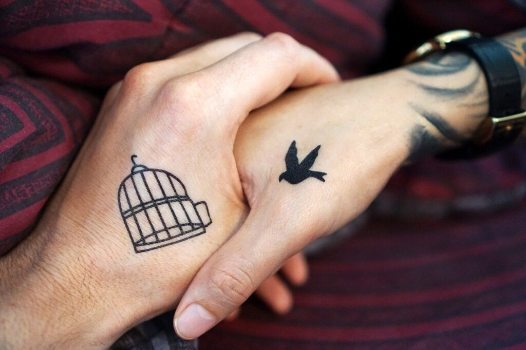 tattoo, hand, hands