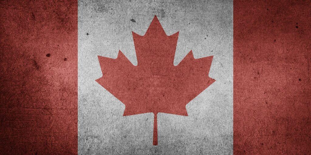 canada, north america, national flag