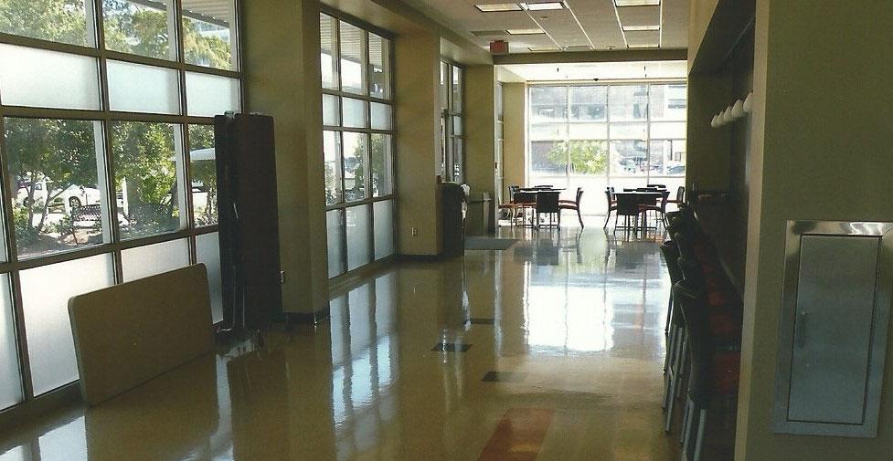 Law School Floor Polishing