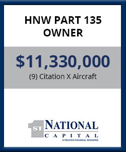 HNW Part 135 Owner