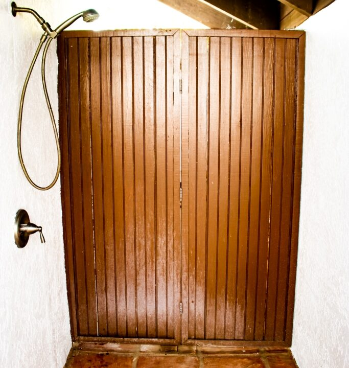 Master Outdoor Shower a