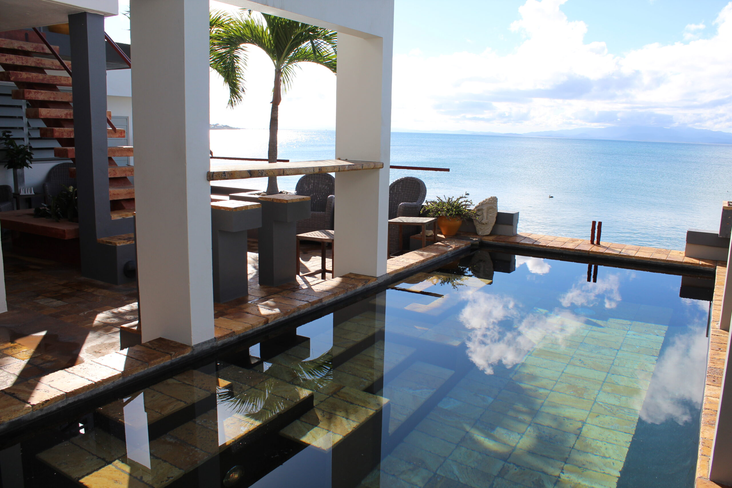 Villa Uno – Oceanfront Art Deco Compound