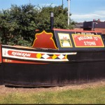 Welcome Stone on the 'Trent and Mersey'