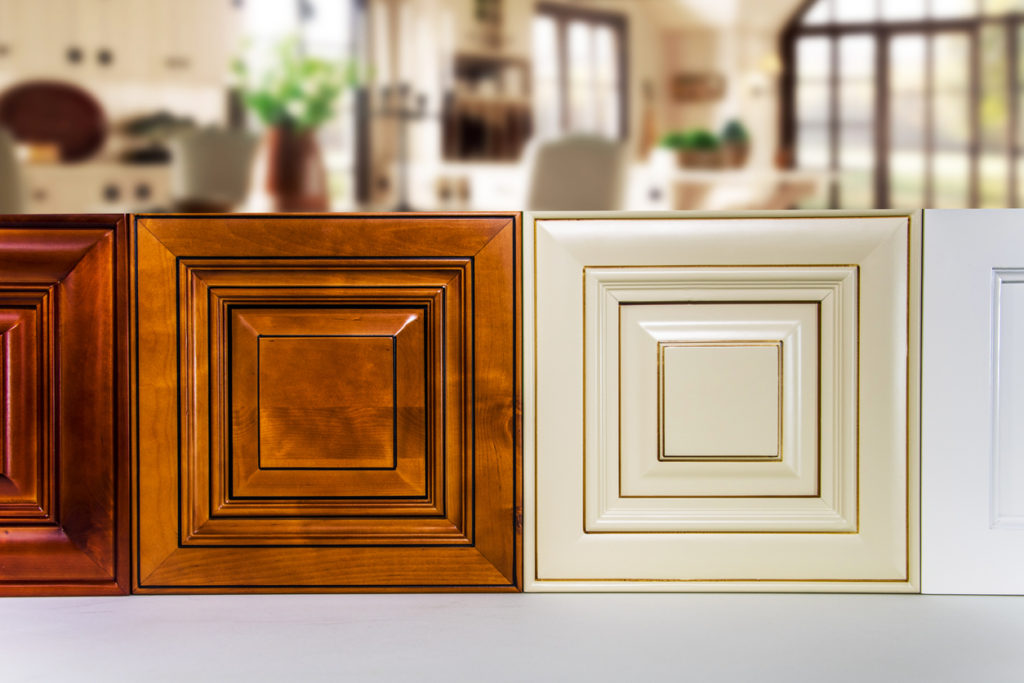 Kitchen cabinet door wood types