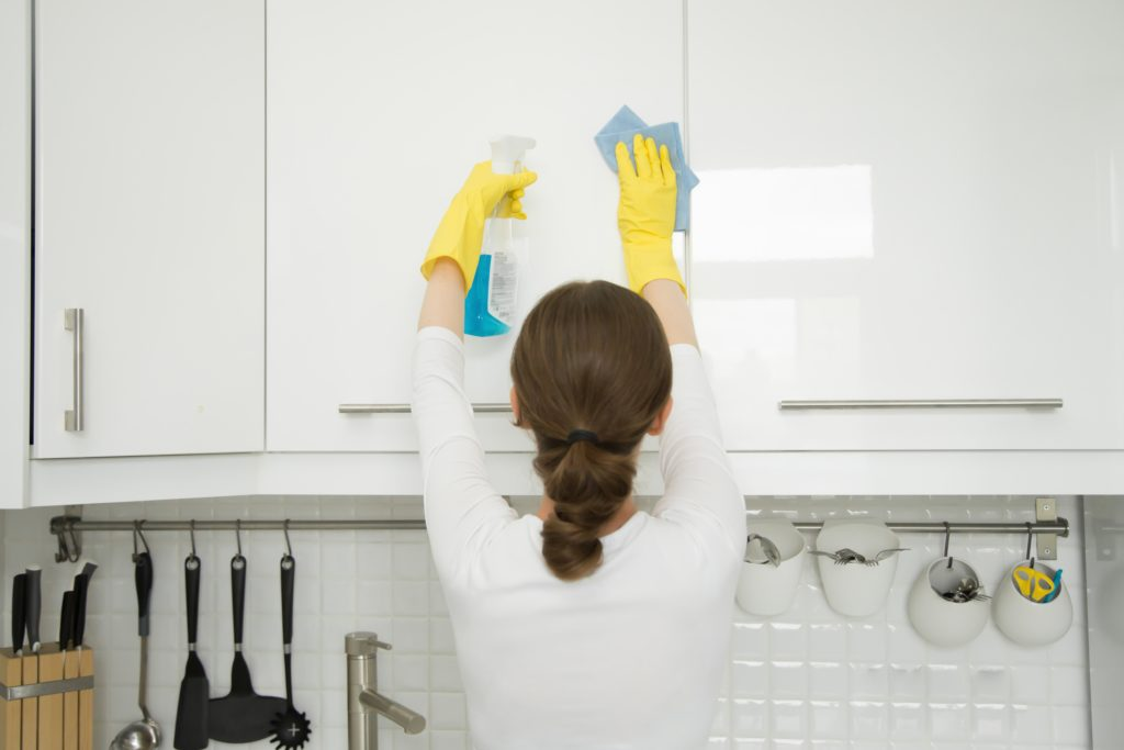 Cleaning and Caring for Your Kitchen Cabinets