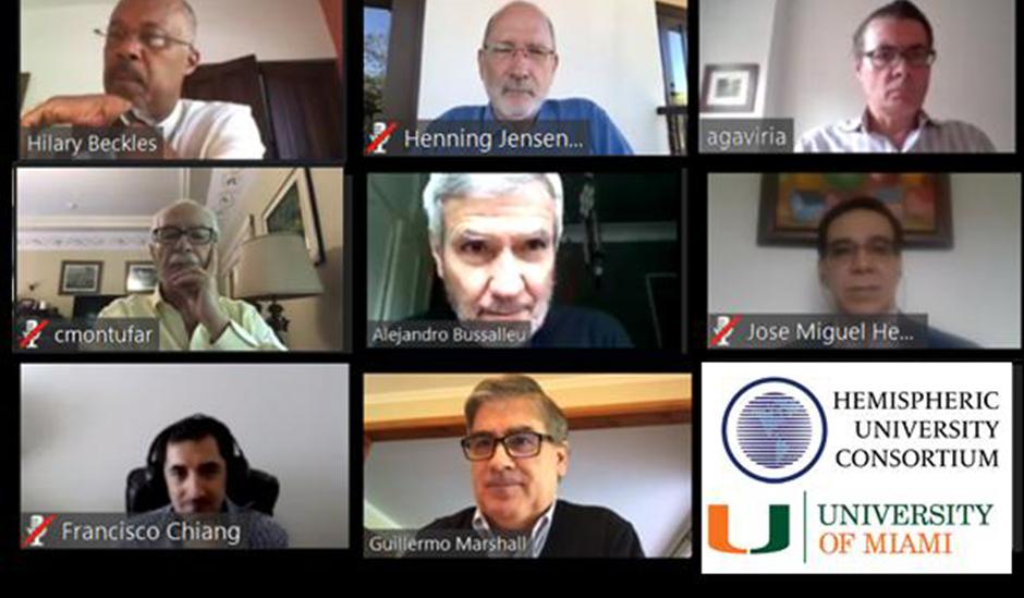 Rede internacional de universidades discute a pandemia da covid-19