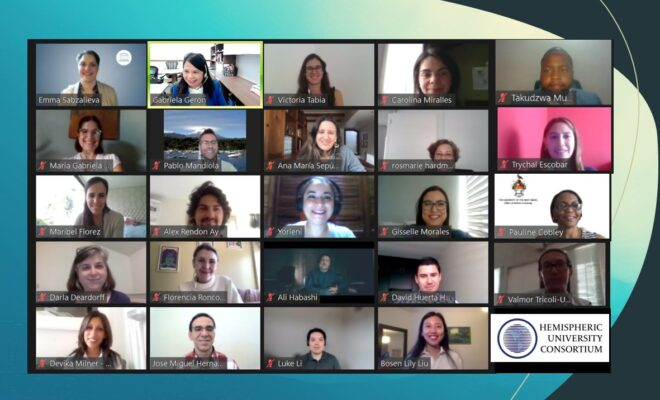 UNESCO IESALC VIRTUAL STUDENT MOBILITY TEAM SHARES EXPERTISE AND EXPERIENCES WITH HEMISPHERIC UNIVERSITY CONSORTIUM