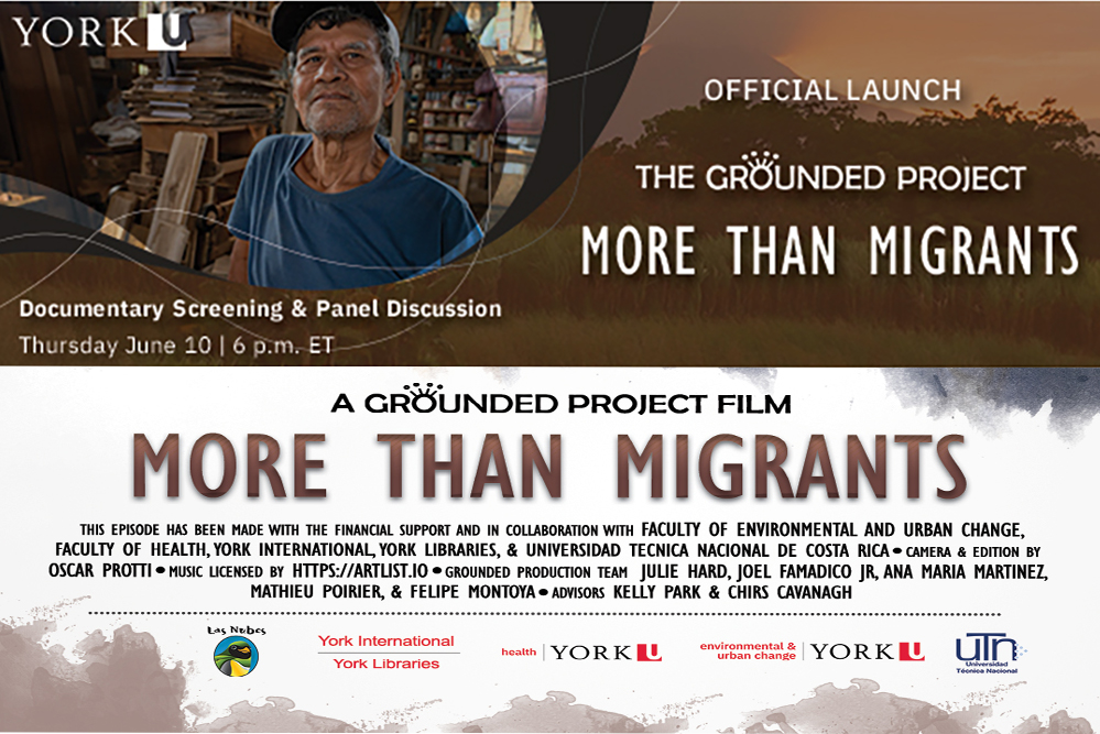 More Than Migrants, (A Grounded Project Film and Panel Discussion)