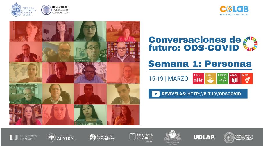 Revive la primera jornada de Conversaciones de Futuro ODS – COVID, el proyecto que  impulsa la Agenda 2030 en América Latina y el Caribe