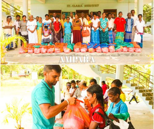 Distribution of Hampers-Ampara