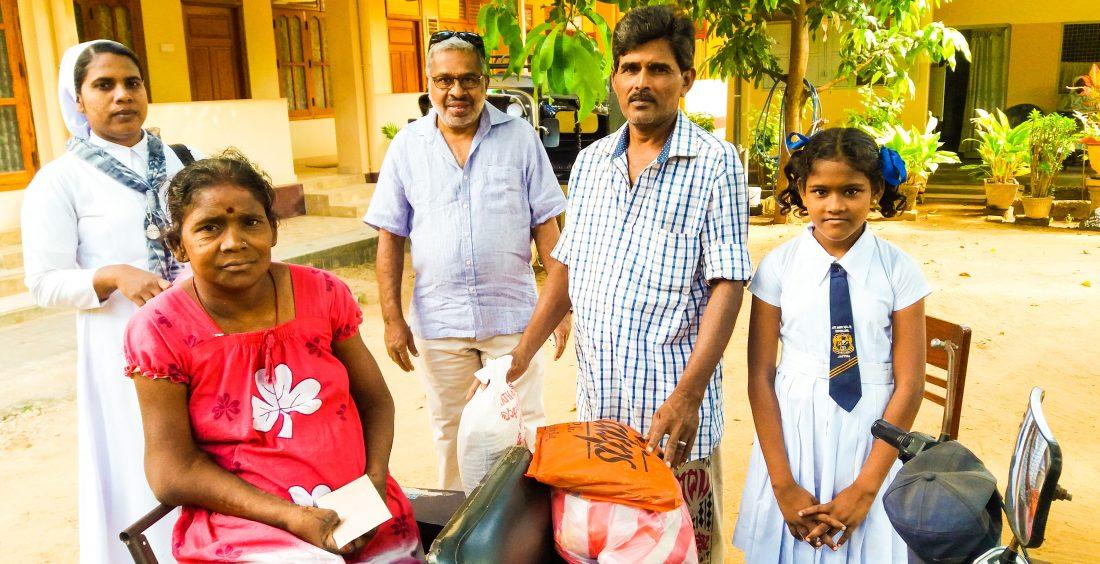 Hampers Distribution in Jaffna