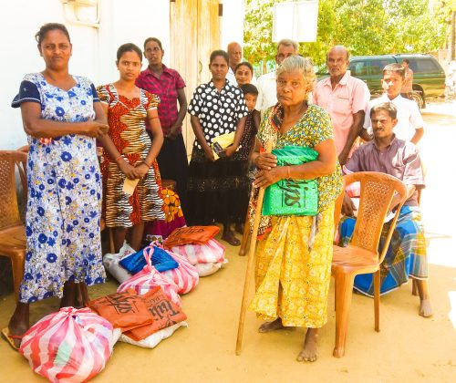 Hampers Distribution in Jaffna