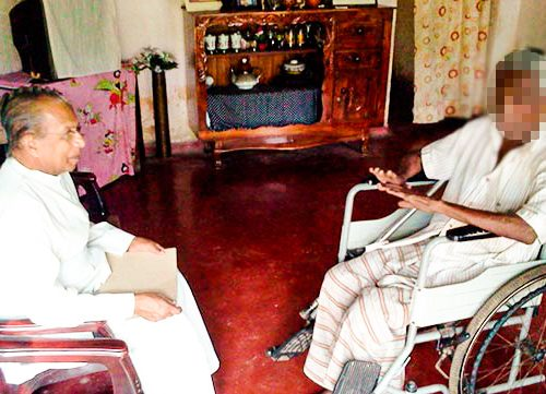 Leprosy Patients in Panadura