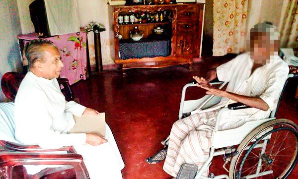 Leprosy Patients in Panadura