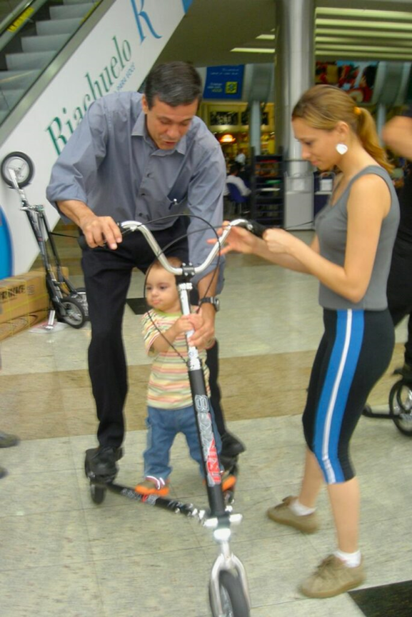 First time I saw a Trikke in Dec 2006
