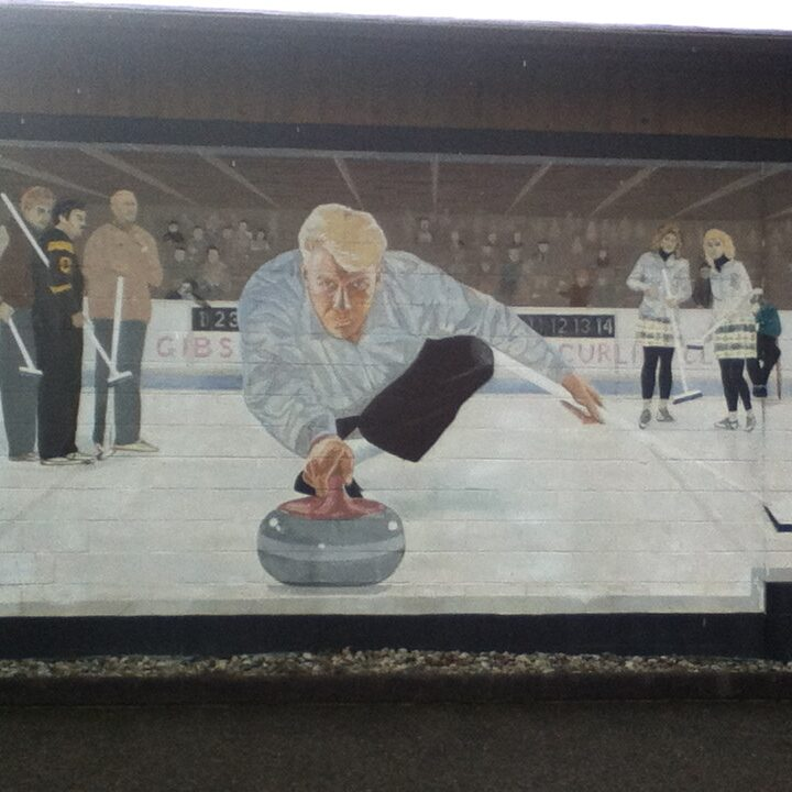 Gibsons Curling Club Mural - Gibsons, BC