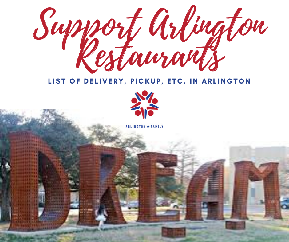 Arlington Restaurants Doing Pickup or Delivery