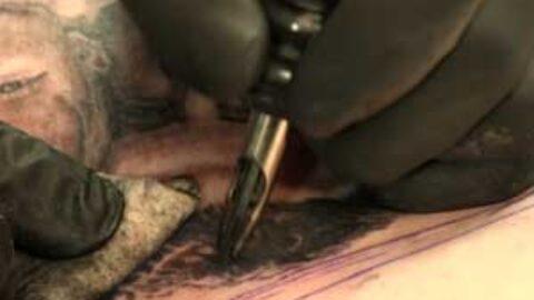 Video Tutorial: Black & Gray Portrait Tattoo