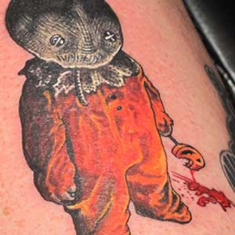 Photo Tutorial: scary kid tattoo tutorial