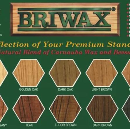 Briwax Light Brown