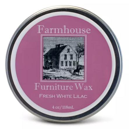 Farmhouse Fresh White Lilac Furniture Wax