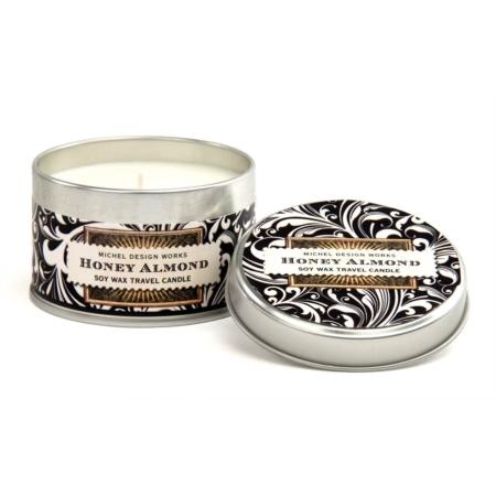 Michel Design Works Honey Almond Travel Candle Honey Almond Travel Candle