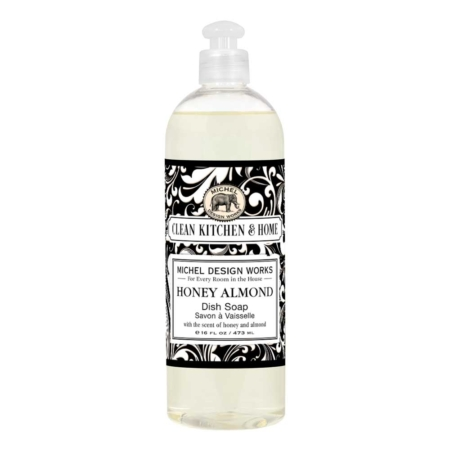 Honey Almond Dish Soap Michel Design Works The Laundry Evangelist
