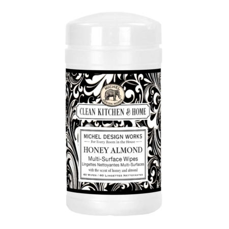 Michel Design Works Honey Almond Multi-Surface Wipes